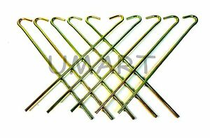 Image is loading Metal-Tent-Peg-Heavy-Duty-Pegs-Stakes-for-  sc 1 st  eBay : metal tent pegs heavy duty - memphite.com