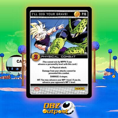 Dragonball Z DBZ TCG Panini Ultra Rare I/'ll Dig Your Grave UR141