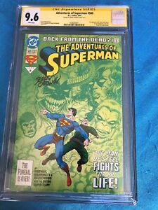 Adventures-of-Superman-500-DC-CGC-SS-9-6-NM-Signed-by-Jerry-Ordway
