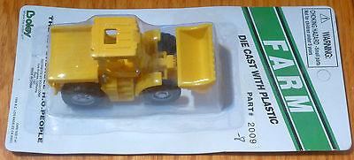 Boley Ho #185-20098 Farm Machinery Yellow 4x4 Tractor W/end Loader & Flatbed