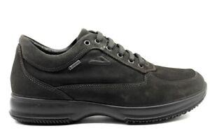 Scarpe-da-uomo-IgieCo-4112855-casual-sportive-basse-sneakers-camoscio-taglia-40