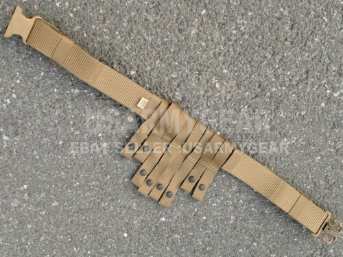 USMC Navy Military Surplus Web Utility Pistol Battle War Belt Coyote Brown USGI