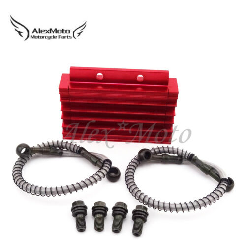 CNC Cooling Radiator Oil Cooler For 125 140cc 150cc Chinese Pit Dirt Bike Trail