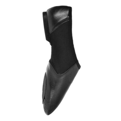 Starlite Negro Hyper Easy Slip On Leather Jazz Shoe 6L uWUkw