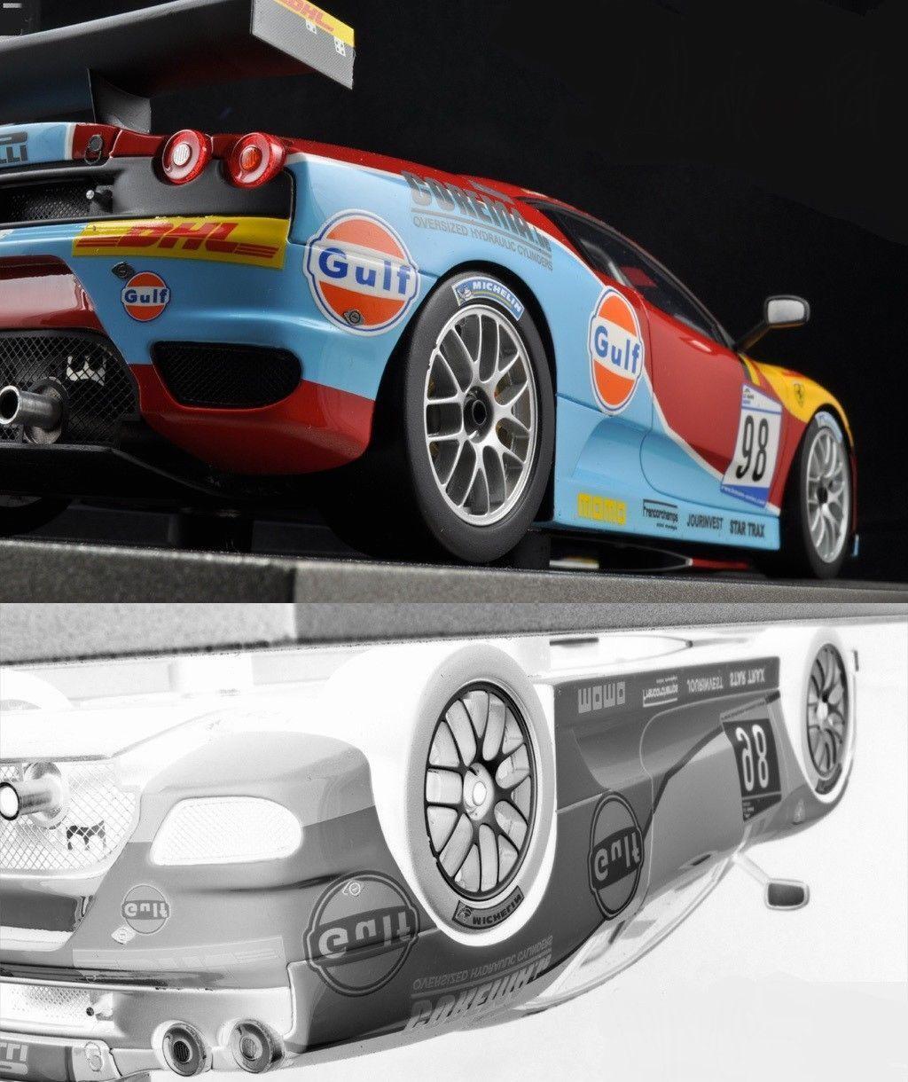 GULF Ferrari Built Race Car GP 40 F 1 Sport Racing GT 24 Hot Rod 12 Model 25 GTO