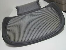 Herman Miller Aeron Chair Back Amp Seat Graphite Frame With Grey Mesh Size C