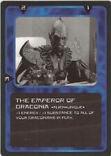 "Doctor Who MMG CCG - Character ""The Emperor of Draconia"" Card"