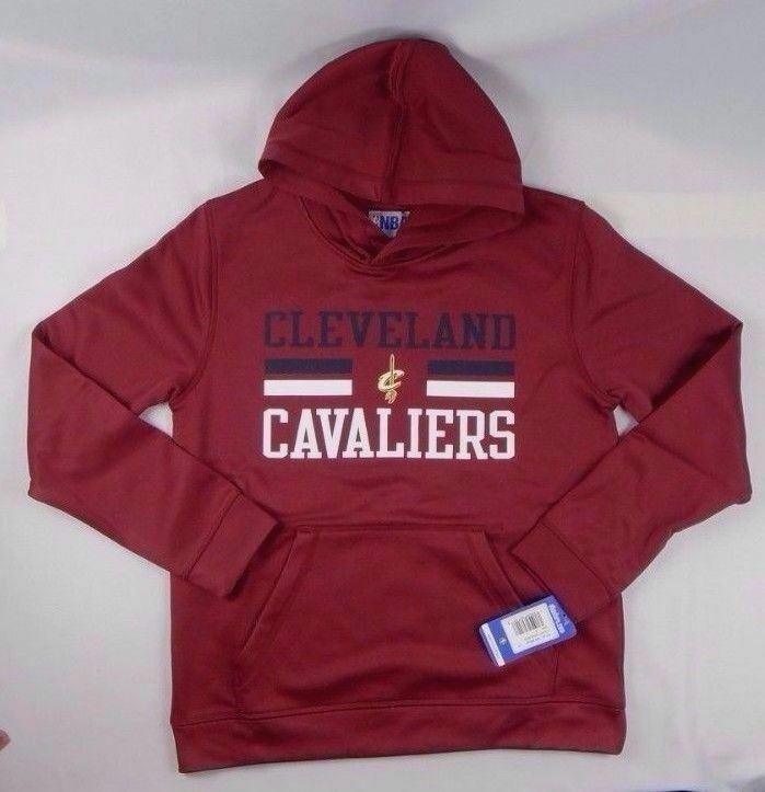 NBA Boys basketball Cleveland Cavaliers Performance hoodie size Small