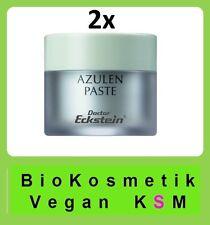 2x Azulen Paste 15ml, Dr.Eckstein BioKosmetik,gegen Hautunreinheiten und Pusteln