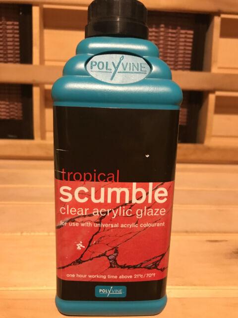 Polyvine Tropical Scumble Glaze Pint