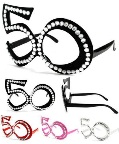 12 pair FIFTY 50/'S NOVELTY PARTY GLASSES  sunglasses #273 men women eyewear new