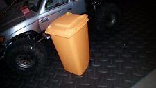 1:10 Scale Trash Can Recycle Bin RC Crawler Garage Accessories (Orange)