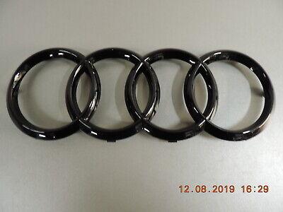 Original Audi a3 a4 a5 a6 a7 Emblem anneaux de caractères dans la calandre noir glänz