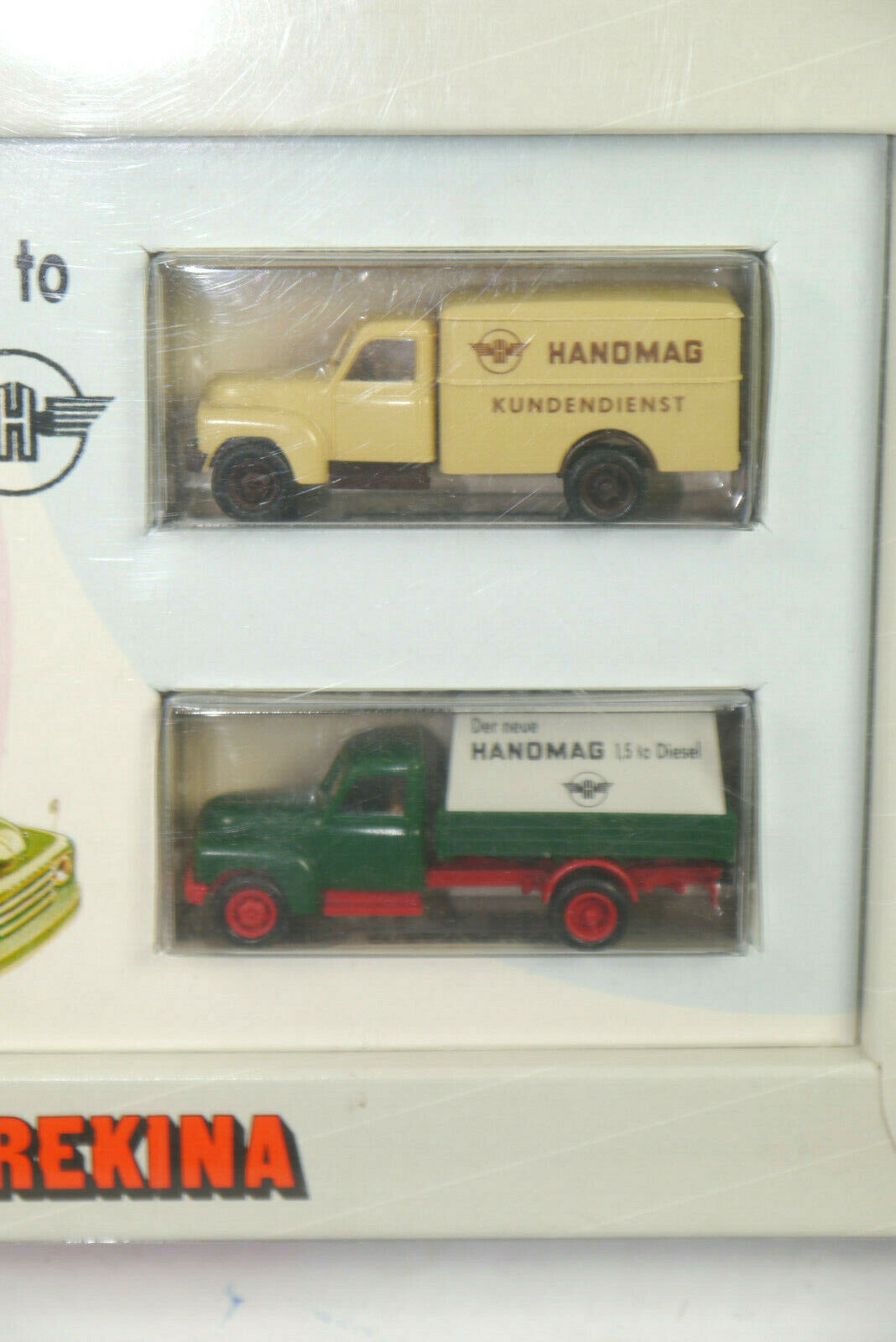 Brekina 3700 Hanomag 1,5 To To To Modellino Auto Set Servizio Clienti 1 87 (K31) f9ccb5