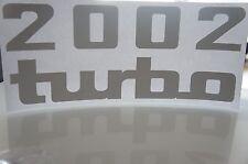 BMW 2002 turbo sticker set dekorsatz
