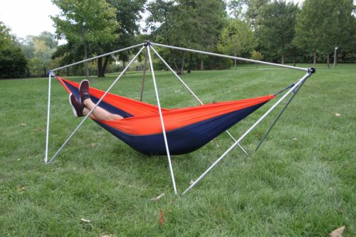 rustique-Portable Hamac Camping Support Hang Solo