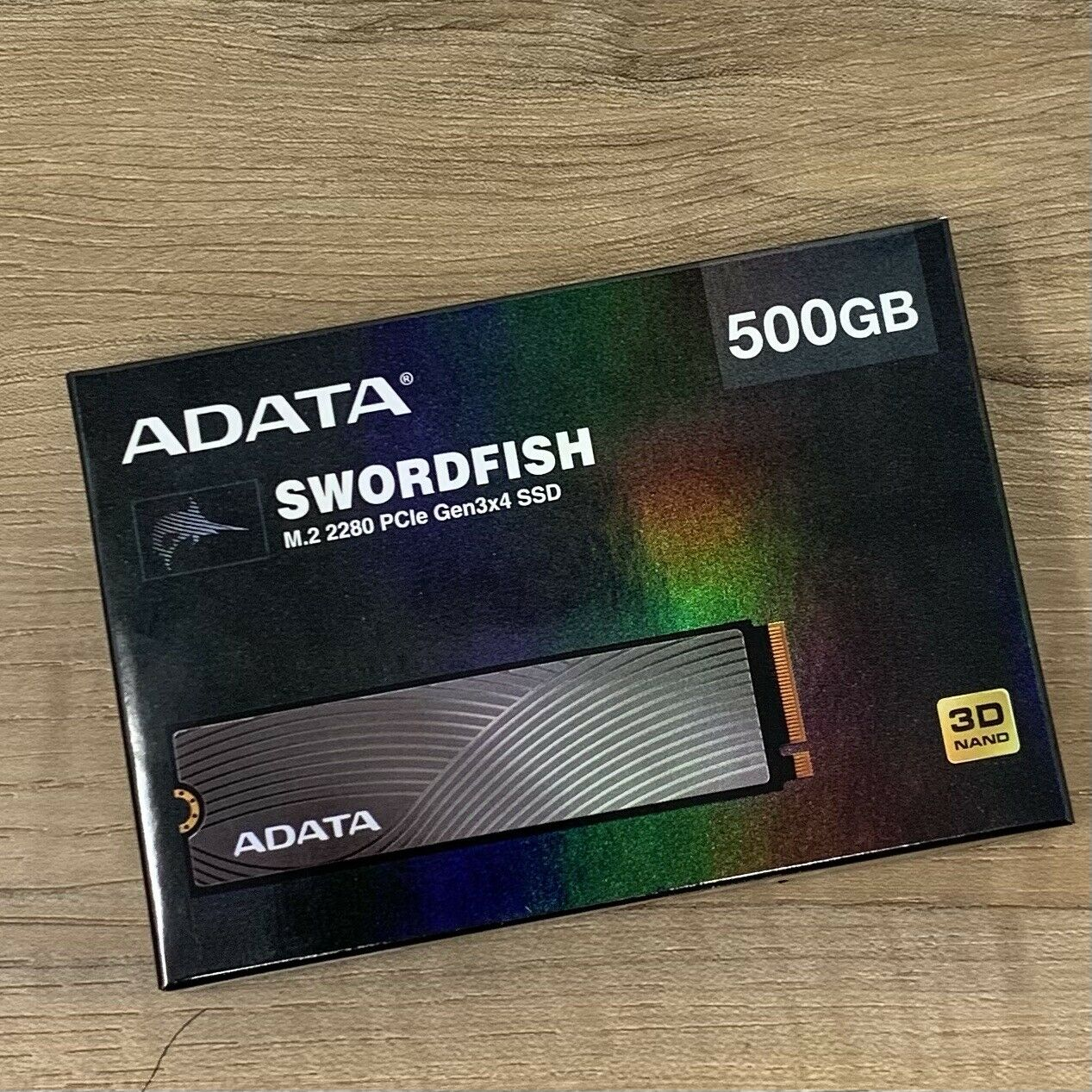 ADATA Swordfish PCIe NVMe Gen3x4 M.2 2280 Solid State Drive 500GB - Sealed New. Buy it now for 50.00