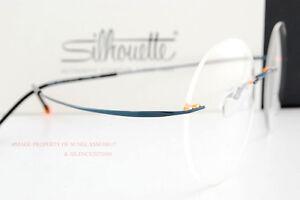 496e6bfaef8af4 Das Bild wird geladen Neu-Silhouette-Brille -Rahmen-Titanium-Minimale-Kunst-B-