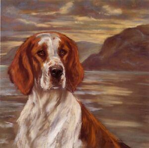 WELSH-SPRINGER-SPANIEL-WSS-DOG-FINE-ART-LIMITED-EDITION-PRINT-by-Julie-Stooks