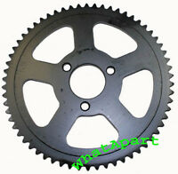 62 Tooth Sprocket 25, 3-bolt For 47cc Mini Pocket Bikes, Mta1, Mta2, 39cc Mta4