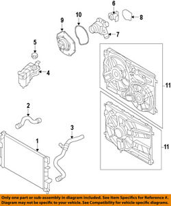 image is loading volvo-oem-11-18-s60-engine-cooling-fan-