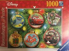 "Disney Pixar Christmas 1000 piece Jigsaw puzzle Nemo-Cars-Toy Story 20"" x 27"""