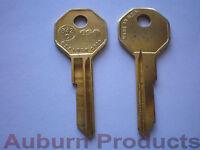 B42 Gm Key Blank / Brass / 50 Key Blanks / Free Shipping /check For Discounts
