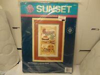 Sunset Cross Stitch Kit Southwest Collection, 10x 16 W/o Mat (new)