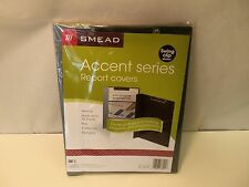 Smead Accent Series Report Cover Swing Clip Binding Blue Gray 5 Pack 86001