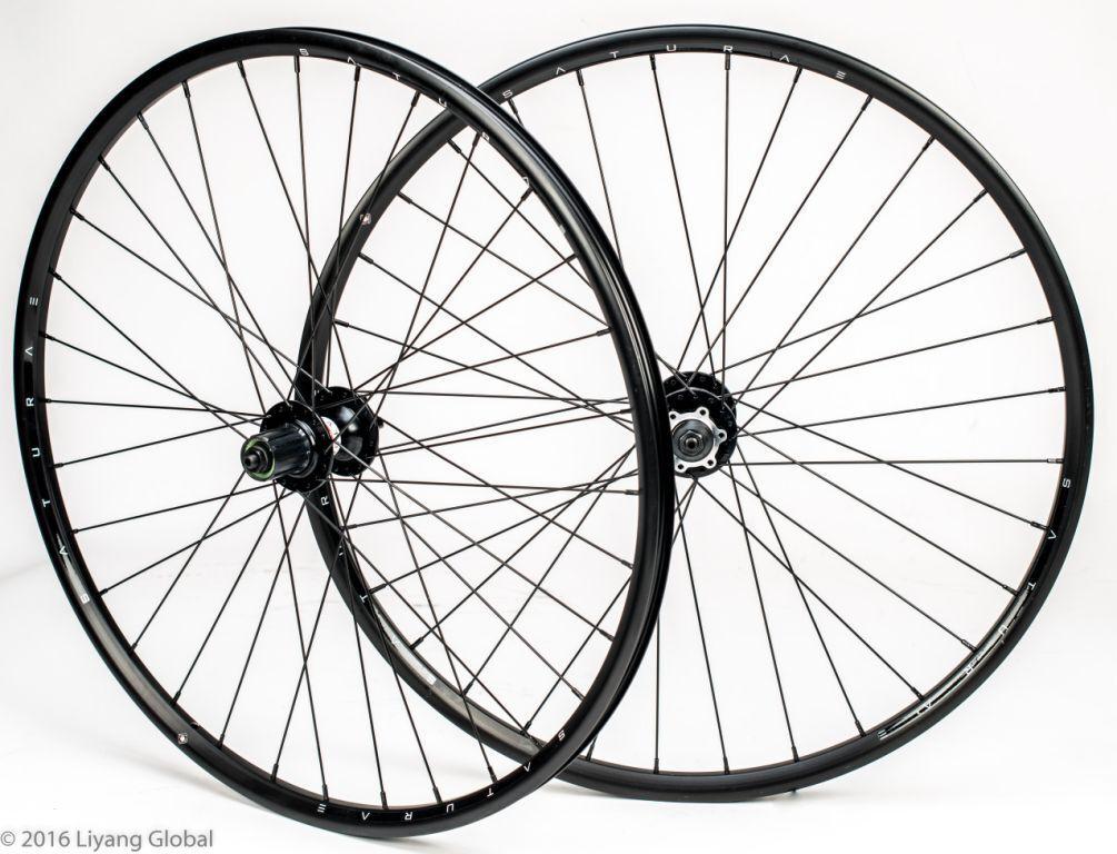 Saturae Disc brake  650B   27.5  alloy wheel set  free shipping worldwide
