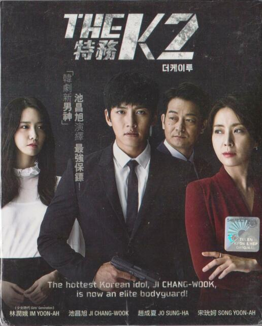 Korean Drama DVD The K2 Episode 1 - 16 End Eng Sub All Region