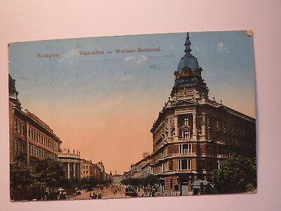 Budapest - Waitzner Boulevard - I. Weltkrieg Um 1915 Feldpost Von Armee Im Felde