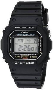 CASIO-DW5600E-1V-Mens-Classic-GSHOCK-Black-Resin-Digital-Chronograph-Sport-Watch
