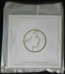 2003-Coronation-Jubilee-Five-Pounds-Coin-039-Sealed-Pack-039-Coins-KM-Coins