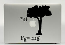 "MacBook Decal Aufkleber ""Newtons Law"" - 15 Zoll"