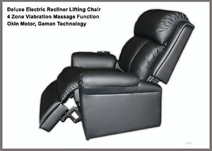 Deluxe Electric Recliner Lift Chair with Massage function, German ...