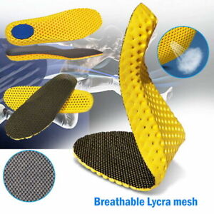 Comfort Orthopedic Memory Foam Shoes Insoles Sport Arch Support Insert Soles Pad
