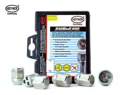 Vauxhall Zafira C 14 TPI de bloqueo Rueda bolt//nut Set-M12 X 1,5