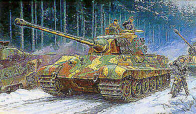 Tamiya 1 35 King Tiger Ardennes front