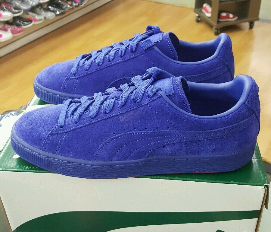 PUMA SUEDE CLASSIC ICED RUBBERMIX 361974 01 SURF THE WEB-ROSE RED Uomo US SZ 8