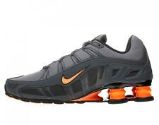 NIKE SHOX  TURBO 3.2 SL Mens Shoes SZ 10 455541-080 Dark Grey/Total Orange-Ant