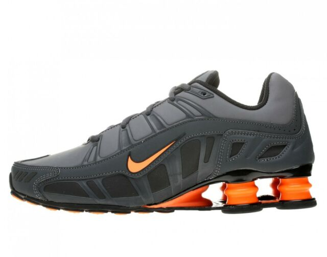 new arrival 163f3 e28af NIKE SHOX TURBO 3.2 SL Mens Shoes SZ 6 455541-080 Dark Grey Total