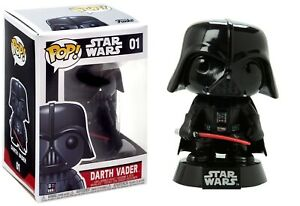 Funko Pop Star Wars: SERIE 1-Darth Vader in Vinile Bobble-Head #2300