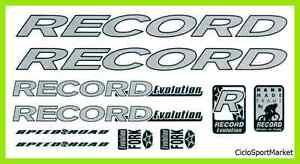 """Klebstoffe / Decals (Aufkleber) """" RECORD """" für personalisiere<wbr/>n verkaufen Fahrrad"""