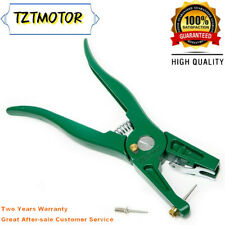Animal Ear Tag Pliers Ear Number Applicator With Spare Pin For Pig Cattle Sheep