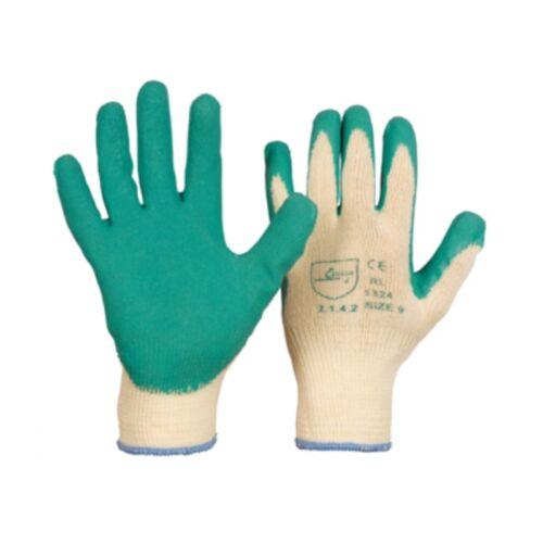 11 3 Paar  Gartenhandschuhe BW // Polyester  Latexbeschichtung Gr 9 10
