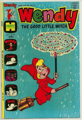 Very Fine+ Wendy The Good Little Witch #84