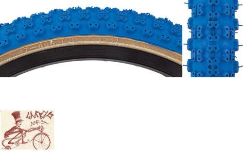 "SUNLITE MX3  20/"" x 1.75/"" BLUE BICYCLE TIRE"