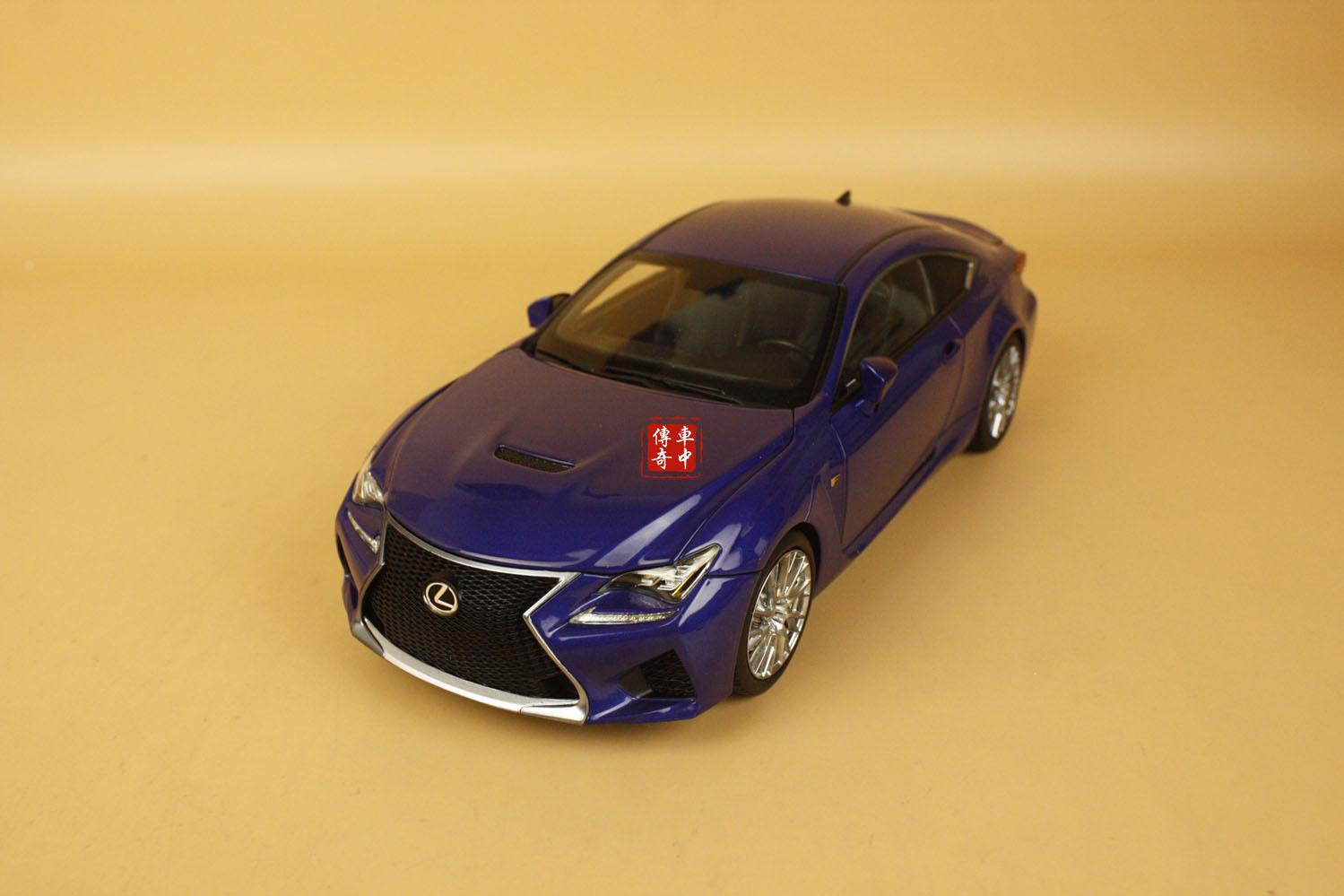 1 18 Lexus Rcf Color Azul + Regalo