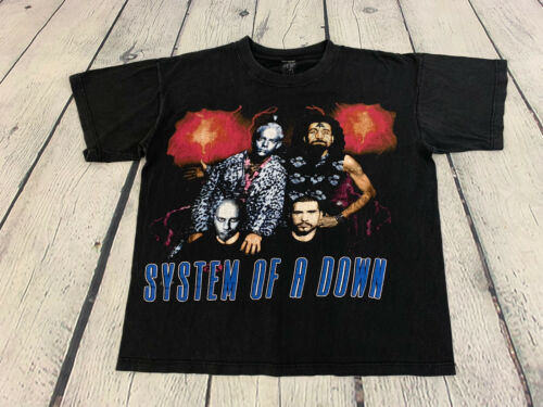 System Of A Down Vintage Men's Rare Toxic Twins Me